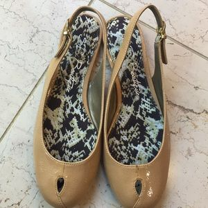 2/$30 SE Boutique sling back flats